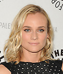 Diane Kruger arriving at The Bridge: Season Two Premiere Screening held at The Paley Center for Media Beverly Hills, CA. June 24, 2014.