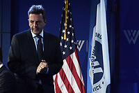 Washington, DC - October 4, 2019: Sergio Massa, Founder, Renewal Front and former Argentinian National Deputy for Buenos Aires Province, speaks on the future of Argentina at the Woodrow Wilson Center in Washington D.C., September 4, 2019. (Photo by Lenin Nolly/Media Images International)