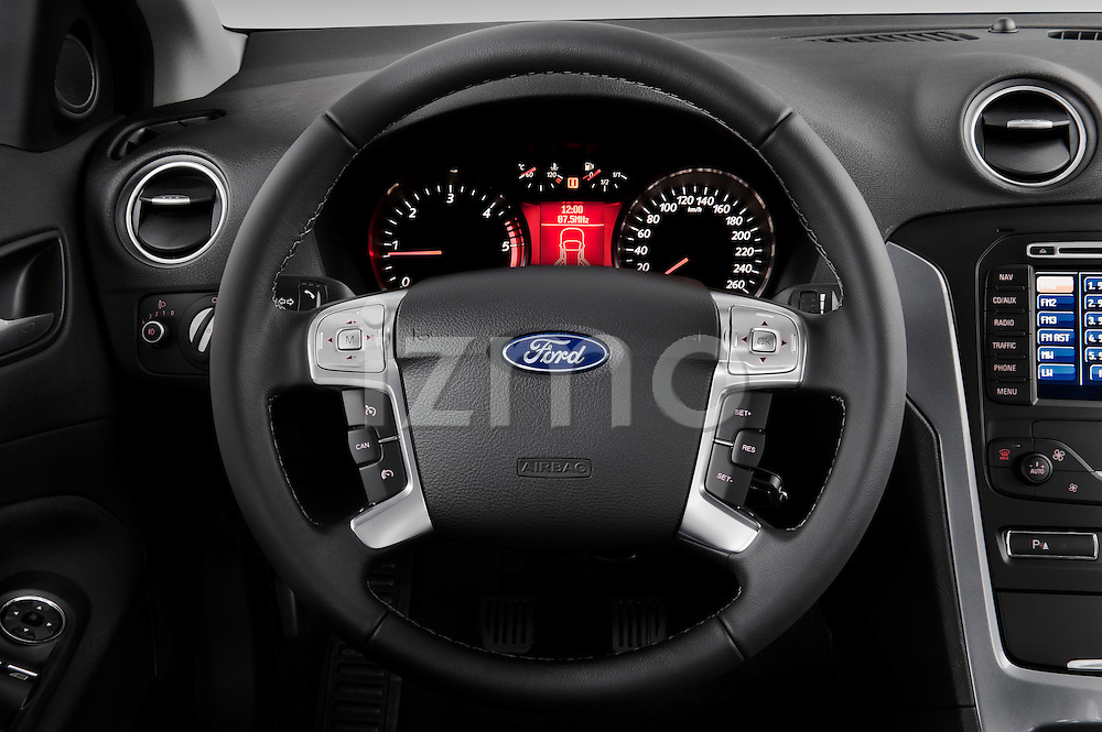2011 ford mondeo trend wagon steering wheel view izmostock. Black Bedroom Furniture Sets. Home Design Ideas