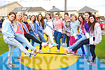 Miss Ballyheigue hopefuls at the Ballyheigue Summer Festival week on Monday. PicturedCathy Cashman, Emma O'Connor, Emma Stritch, Emma O'Gorman, Megan Cotter, Shauna Crowe, Louise Ryan, Annie Galway, Cliona Hussey, Megan Sheehy, Teresa Leen, Rebecca Casey