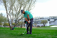 Hideki Matsuyama (JPN) on the 11th fairway during the 3rd round of the Waste Management Phoenix Open, TPC Scottsdale, Scottsdale, Arisona, USA. 02/02/2019.<br /> Picture Fran Caffrey / Golffile.ie<br /> <br /> All photo usage must carry mandatory copyright credit (&copy; Golffile | Fran Caffrey)