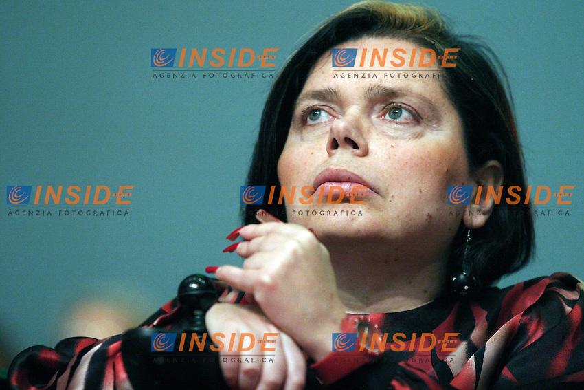 Ileana Argentin.Assemblea Nazionale del Partito Democratico.Roma, 21 Maggio 2010.Photo Serena Cremaschi Insidefoto