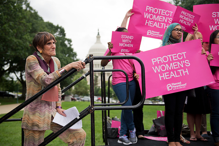 UNITED STATES - JULY 11:  Rep. Rosa DeLauro, D-Conn., arrives to speak at a Planned Parenthood Federation of America rally in Upper Senate Park to oppose some states' legislation that they claim limits safe and legal abortion. (Photo By Tom Williams/CQ Roll Call)