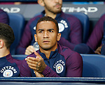 Danilo of Manchester City starts on the bench during the Premier League match at the Eithad Stadium, Manchester. Picture date 21st August 2017. Picture credit should read: Simon Bellis/Sportimage