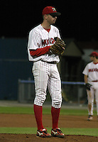September 3, 2003:  Pitcher Brad Ziegler of the Batavia Muckdogs, Class-A affiliate of the Philadelphia Phillies, during a NY-Penn League game at Dwyer Stadium in Batavia, NY.  Photo by:  Mike Janes/Four Seam Images