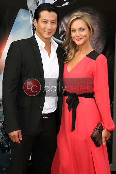 """Will Yun Lee, Jennifer Birmingham<br /> at the """"San Andreas"""" Los Angeles Premiere, TCL Chinese Theater, Hollywood, CA 05-26-15<br /> David Edwards/DailyCeleb.Com 818-249-4998"""