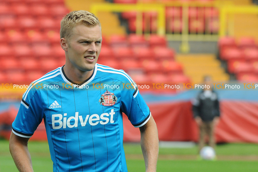Sebastian Larsson of Sunderland - Gateshead vs Sunderland XI - Pre-Season Football Friendly Match at the Gateshead International Stadium, Gateshead, Tyne & Wear - 02/08/14 - MANDATORY CREDIT: Steven White/TGSPHOTO - Self billing applies where appropriate - contact@tgsphoto.co.uk - NO UNPAID USE