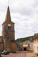 the church pernand-vergelesses cote de beaune burgundy france