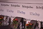 LA JOLLA, CA - OCTOBER 4: NY Times event<br /> Credit: Donald Miralle
