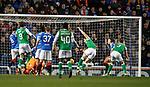 05.02.2020 Rangers v Hibs:  Paul Hanlon scores