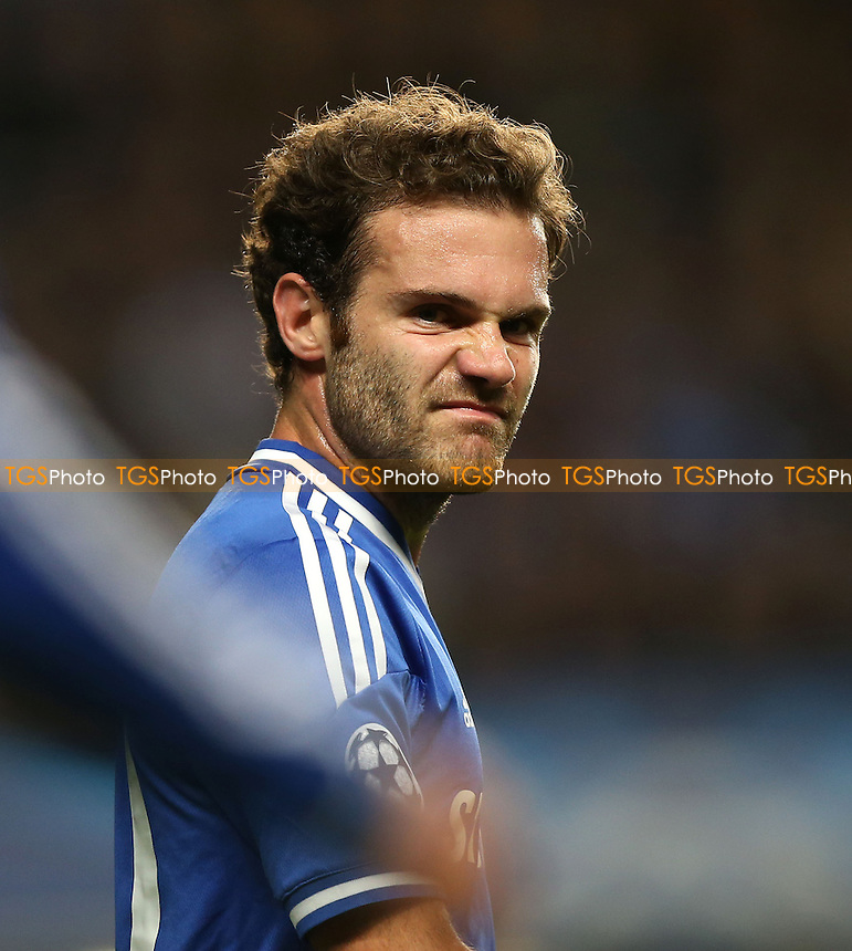 Juan Mata of Chelsea - Chelsea vs FC Basel, Champions League Group Stage at Stamford Bridge, Chelsea - 18/09/13 - MANDATORY CREDIT: Rob Newell/TGSPHOTO - Self billing applies where appropriate - 0845 094 6026 - contact@tgsphoto.co.uk - NO UNPAID USE