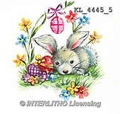 Interlitho, EASTER, OSTERN, PASCUA, paintings+++++,KL4445/5,#e# rabbits
