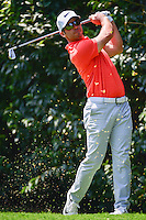 Paul Casey (ENG) watches his tee shot on 2 during round 1 of the World Golf Championships, Mexico, Club De Golf Chapultepec, Mexico City, Mexico. 3/2/2017.<br /> Picture: Golffile | Ken Murray<br /> <br /> <br /> All photo usage must carry mandatory copyright credit (&copy; Golffile | Ken Murray)