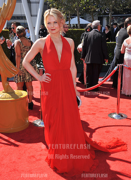Jennifer Morrison at the 2012 Primetime Creative Emmy Awards at the Nokia Theatre, LA Live..September 15, 2012  Los Angeles, CA.Picture: Paul Smith / Featureflash