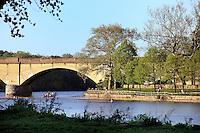 Fairmont Park and the Schuylkill River, Philadelphia, Pennsylvania, PA