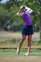 Jessica Korda (USA) watches her tee shot on 5 during round 3 of the 2019 US Women's Open, Charleston Country Club, Charleston, South Carolina,  USA. 6/1/2019.<br /> Picture: Golffile | Ken Murray<br /> <br /> All photo usage must carry mandatory copyright credit (© Golffile | Ken Murray)