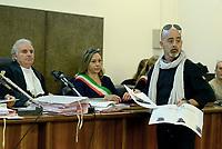 Roma, 24 Ottobre 2018<br /> Foto segnaletica.<br /> Processo Cucchi Bis contro 5 Carabinieri accusati della morte di Stefano Cucchi