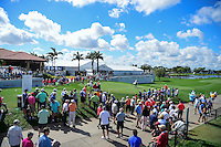 The number 1 tee box with partly cloudy skies during round 1 of the Honda Classic, PGA National, Palm Beach Gardens, West Palm Beach, Florida, USA. 2/23/2017.<br /> Picture: Golffile | Ken Murray<br /> <br /> <br /> All photo usage must carry mandatory copyright credit (&copy; Golffile | Ken Murray)