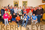 Declan Quill retiring after 17 yrs with Kerins O'Rahillys GAA Club celebrates with family and friends on Sunday