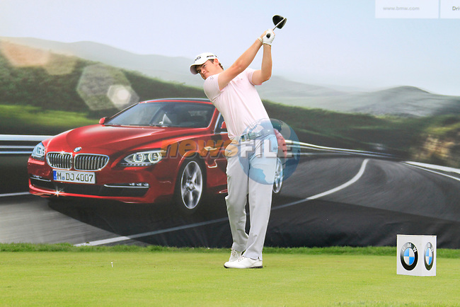 Gary Boyd (ENG) tees off on the 18th tee during of Day 3 of the BMW International Open at Golf Club Munchen Eichenried, Germany, 25th June 2011 (Photo Eoin Clarke/www.golffile.ie)