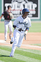 Erick Mejia (29) of the Everett Aquasox during a game against the Vancouver Canadian at Everett Memorial Stadium in Everett, Washington on July 28, 2015.  Everett defeated Vancouver 8-5. (Ronnie Allen/Four Seam Images)