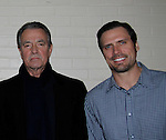 Eric Braeden & Joshua Morrow - The Young and The Restless - Genoa City Live celebrating over 40 years with on February 27. 2016 at The Lyric Opera House, Baltimore, Maryland on stage with questions and answers followed with autographs and photos in the theater.  (Photo by Sue Coflin/Max Photos)