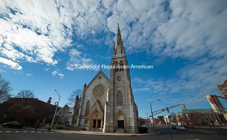 WATERBURY, CT--- -12075JS06--St. John's Episcopal Church in Waterbury. <br /> Jim Shannon Republican-American