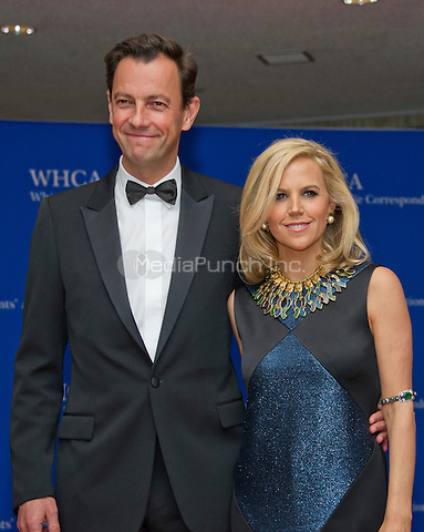 Designer Tory Burch, right, and Pierre-Yves Roussel arrive for the 2016 White House Correspondents Association Annual Dinner at the Washington Hilton Hotel on Saturday, April 30, 2016.<br /> Credit: Ron Sachs / CNP<br /> (RESTRICTION: NO New York or New Jersey Newspapers or newspapers within a 75 mile radius of New York City)/MediaPunch