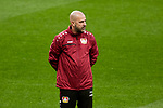 Peter Bosz during the Training Session before the UEFA Champions League match between Atletico de Madrid and Bayer 04 Leverkusen at Wanda Metropolitano Stadium in Madrid, Spain. October 21, 2019. (ALTERPHOTOS/A. Perez Meca)