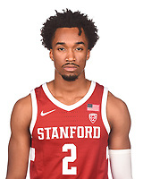 Stanford Basketball M Portraits, October 3, 2019
