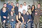 BIRTHDAY PARTY: Emer O'Flaherty, Oakpark, Tralee (seated centre), having a ball at her birthday party in Bella Bia Restaurant on Saturday night. Front l-r: Triana O'Callaghan, Mossie Whelan, Emer O'Flaherty, Damien Reid and Paula Duggan. Back l-r: Paudi O'Keeffe, John Dalton, Rachel Tough, Tim Cronin, Tim Hartnett, Sebastian Goddard, Karolina Stefan, June Curly and Kieran Reid.   Copyright Kerry's Eye 2008