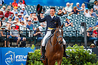 AUS-Shane Rose rides Virgil during the FEI World Team and Individual Eventing Championship Dressage. 2018 FEI World Equestrian Games Tryon. Friday 14 September. Copyright Photo: Libby Law Photography