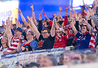 , FL - : Fans cheer during a game between  at  on ,  in , Florida.