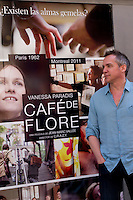 07.08.2012. Presentation at the Golem cinema in Madrid of the film.'Cafe de Flore'. Directed by Canadian Jean-Marc Vall&eacute;e and starring Vanessa Paradis and Kevin Parent. In the image Jean-Marc Vall&eacute;e  (Alterphotos/Marta Gonzalez). /NortePhoto.com<br />