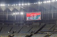 Rio de Janeiro (RJ), 14/03/2020 - Flamengo-Portuguesa - Cadeiras vazias. Partida entre Flamengo e Portuguesa, valida pela terceira rodada da Taca Rio, realizada no Estadio Jornalista Mario Filho (Maracana), na zona norte do Rio de Janeiro, neste sabado (14). (Foto: Andre Fabiano/Codigo 19/Codigo 19)