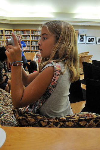Scenes from a kids summer photography workshop<br /> Omega Institute