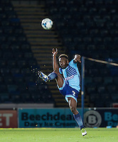 Anthony Stewart of Wycombe Wanderers in action during the Sky Bet League 2 match between Wycombe Wanderers and Accrington Stanley at Adams Park, High Wycombe, England on 16 August 2016. Photo by Andy Rowland.