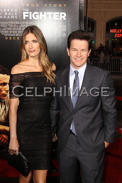 "RHEA DURHAM, MARK WAHLBERG. World Premiere of Paramount Pictures' ""The Fighter"" at Grauman's Chinese Theatre. Hollywood, CA, USA. December 6, 2010. ©CelphImage"