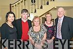 Duagh GAA Social: Attending the Duagh GAA club Social on Friday night last at the Listowel Arms Hotel were Eileen & Matt Foley, Mary Leen, Mary & Chris O'Donoghue.