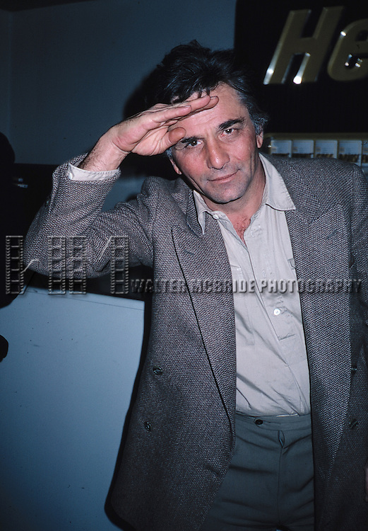 Peter Falk 1984 in New York City.