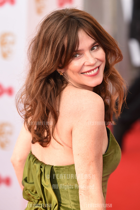 Anna Friel arriving for the BAFTA TV Awards 2018 at the Royal Festival Hall, London, UK. <br /> 13 May  2018<br /> Picture: Steve Vas/Featureflash/SilverHub 0208 004 5359 sales@silverhubmedia.com