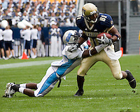 23 September 2006: Pitt wide receiver Derek Kinder (81)..The Pitt Panthers beat The Citadel Bulldogs 51-6 on September 23, 2006 at Heinz Field, Pittsburgh, Pennsylvania.