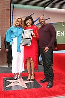LOS ANGELES - JAN 28:  Mary J Blige, Taraji P Henson, John SIngleton at the Taraji P. Henson Star Ceremony on the Hollywood Walk of Fame on January 28, 2019 in Los Angeles, CA