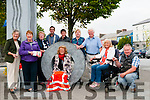 Listowel Tidy Towns: Members of the Listowel Tidy Towns committee who have been invited to the final in Dublin on September 28th next pictured in the Square. L- R : Bridget Neville, Mary O'Hanlon. Breda McGrath, Mayor Jimmy Moloney, Damian O'Mahony, Imelda Murpphy, Kieran Moloney, Jackie Barrett<br /> &amp; Peter O'Sullivan. In Front : Joan Byrne.