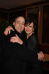 "Philip Katz producer of Still Sassy poses with As The World Turns Colleen Zenk as she stars in her one-woman cabaret show ""Colleen Zenk - Still Sassy"" on October 30, 2011 at Feinstein's at Loews Regency, New York City, New York. (Photo by Sue Coflin/Max Photos)"