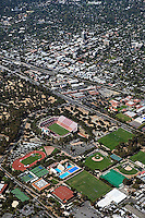 aerial photograph Stanford University Palo Alto