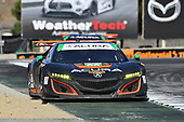IMSA WeatherTech SportsCar Championship<br /> AMERICA'S TIRE 250<br /> Mazda Raceway Laguna Seca<br /> Monterey, CA USA<br /> Sunday 24 September 2017<br /> 86, Acura, Acura NSX, GTD, Oswaldo Negri Jr., Jeff Segal, 93, Acura, Acura NSX, GTD, Andy Lally, Katherine Legge<br /> World Copyright: Richard Dole<br /> LAT Images<br /> ref: Digital Image DSC_4063