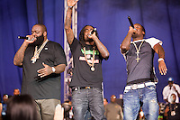 The Maybach Music Tour featuring Rick Ross, Meek Mill, & Wale at The Silverdome in Pontiac, Michigan on April 27, 2012. © Joe Gall / MediaPunch Inc.