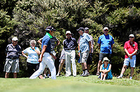 Spectators. Day Four of the Toro Interprovincial Men's Championship, Mangawhai Golf Course, Mangawhai,  New Zealand. Saturday 9 December 2017. Photo: Simon Watts/www.bwmedia.co.nz
