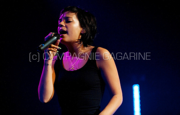 Lily Allen's concert in the Ancienne Belgique, Brussels (Belgium, 08/05/2009)